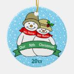 Nuestro Nth navidad Adorno De Reyes