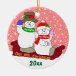 Nuestro Nth navidad Ornamentos De Reyes