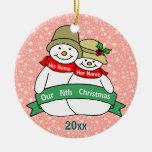 Nuestro Nth navidad Ornamentos De Reyes Magos