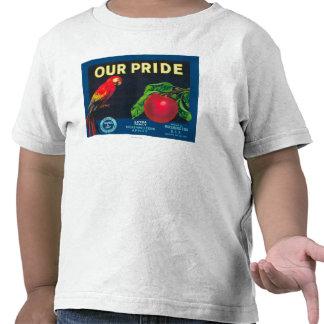 Nuestro orgullo Apple etiqueta - el estado de Camisetas