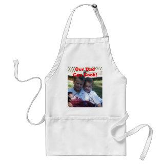 Nuestro papá puede cocinar delantal