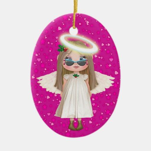 Nuestro pequeño ángel ornamento de reyes magos