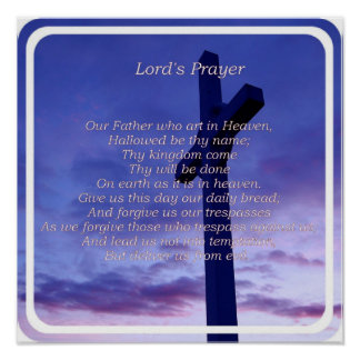 Nuestro poster del padre póster