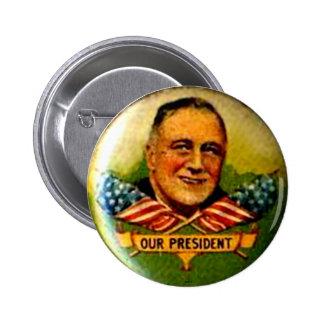 Nuestro presidente - botón pin