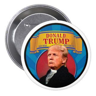 Nuestro presidente siguiente pin redondo de 3 pulgadas
