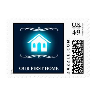 nuestro primer casero (hogar de la MOD) Sello Postal