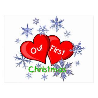 Nuestro primer navidad postal