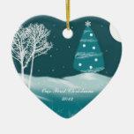 Nuestro primer ornamento del navidad 2012 adorno de reyes