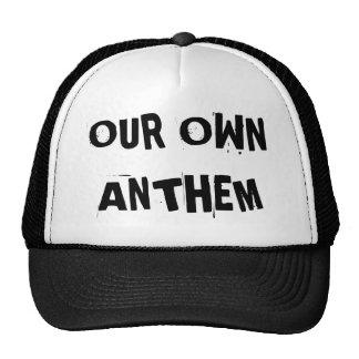Nuestro propio gorra del camionero del himno