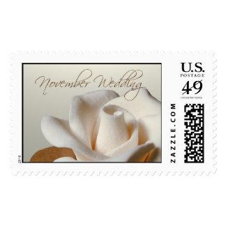 Nuestro sello del boda de noviembre