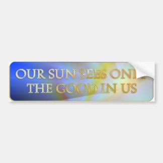 Nuestro Sun considera solamente el bueno en nosotr Pegatina Para Auto