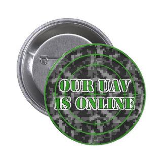 """""""Nuestro UAV es"""" botón en línea"""