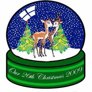 Nuestro vigésimo sexto ornamento 2009 del navidad esculturas fotográficas
