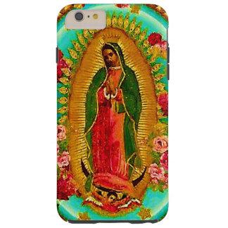 Nuestro Virgen María mexicano del santo de señora Funda De iPhone 6 Plus Tough