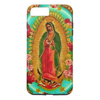 Nuestro Virgen María mexicano del santo de señora Funda iPhone 7 Plus