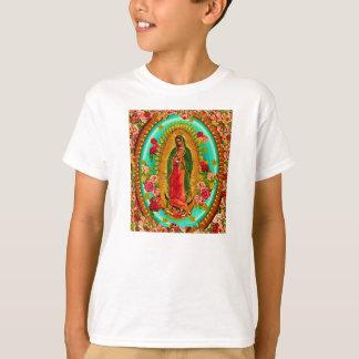 Nuestro Virgen María mexicano del santo de señora Playera