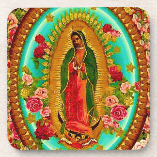 Nuestro Virgen María mexicano del santo de señora Posavasos