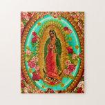 Nuestro Virgen María mexicano del santo de señora Puzzle Con Fotos