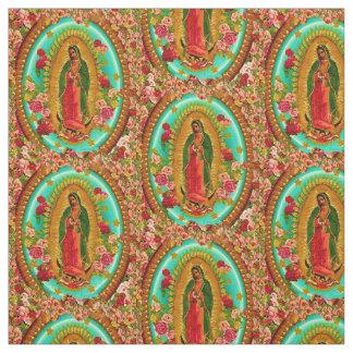 Nuestro Virgen María mexicano del santo de señora Telas