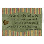 Nuestros corazones son conscientes de nuestra tarjetón