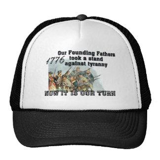 Nuestros fundadores contra tiranía gorra