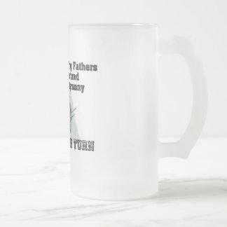Nuestros fundadores contra tiranía taza de café