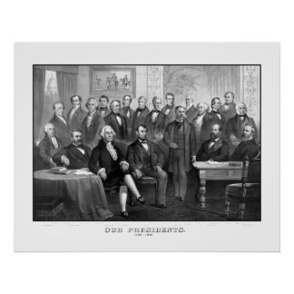 Nuestros presidentes 1789 - 1881 poster