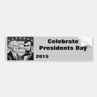 Nuestros presidentes - pegatina para coche