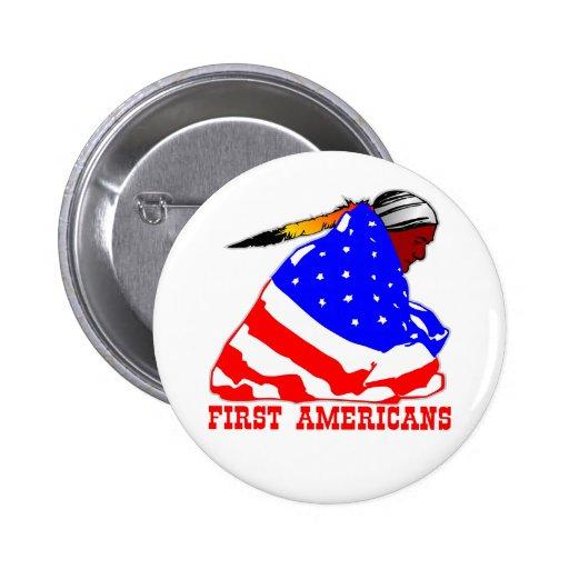 Nuestros primeros americanos pin
