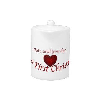 Nuestros primeros nombres del Navidad-personalizar