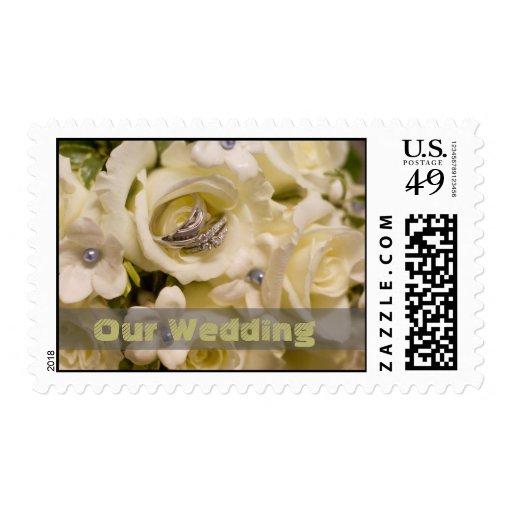 Nuestros sellos de las flores y de los anillos del