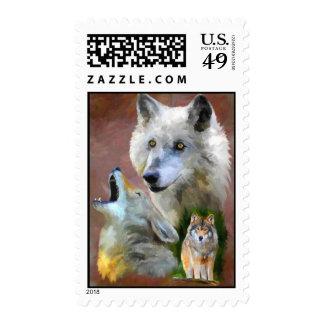 Nuestros sellos del grito (lobo)