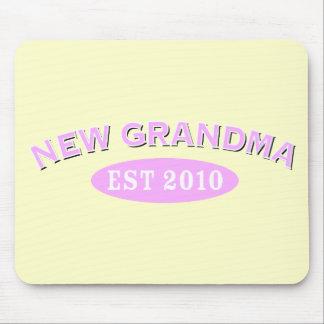Nueva abuela 2010 tapete de ratón