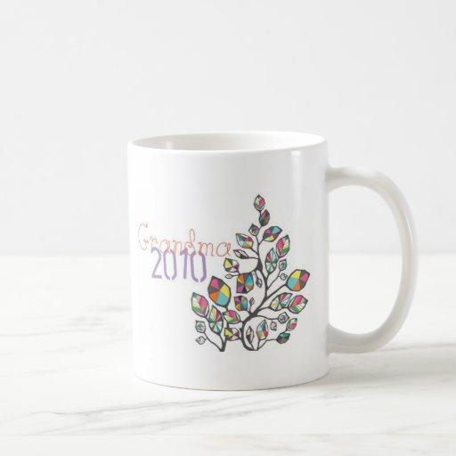 Nueva abuela 2010 tazas de café