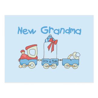 Nueva abuela de las camisetas y de los regalos del postal