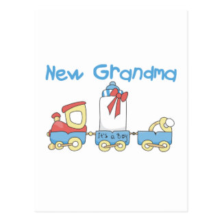 Nueva abuela de las camisetas y de los regalos del tarjeta postal