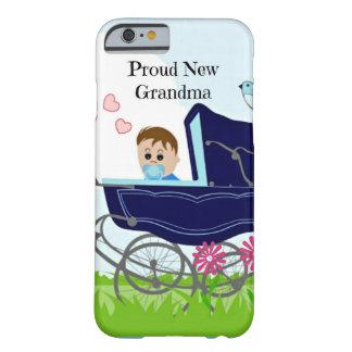 Nueva abuela orgullosa - azul funda barely there iPhone 6