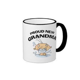 Nueva abuela orgullosa tazas de café