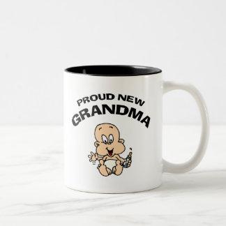 Nueva abuela orgullosa taza de café