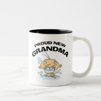 Nueva abuela orgullosa tazas