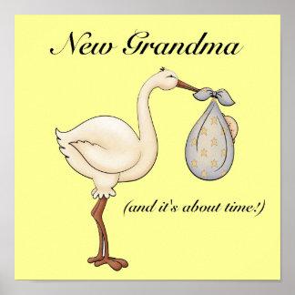 Nueva abuela póster