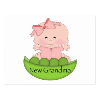 Nueva abuela tarjetas postales