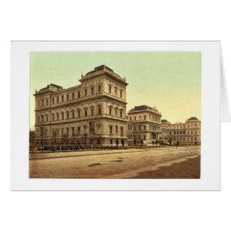 Nueva academia de bellas arte, Munich, Baviera, Al Tarjetón