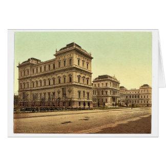 Nueva academia de bellas arte, Munich, Baviera, Al Tarjeta
