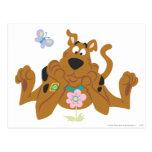 Nueva actitud 40 del estudio de Scooby Doo Postales