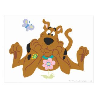 Nueva actitud 40 del estudio de Scooby Doo Postal