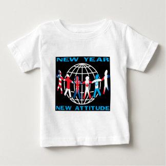 Nueva actitud del Año Nuevo Camisas