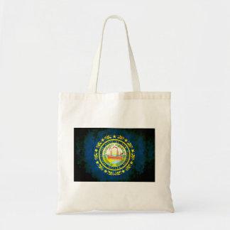 Nueva bandera de Hampshirite del contraste colorid Bolsa De Mano