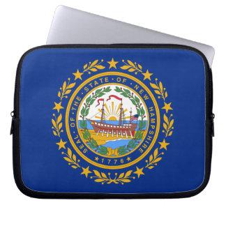Nueva bandera de Hampshirite Fundas Portátiles