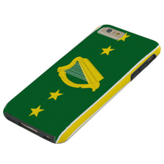 Nueva bandera de Irlanda Funda De iPhone 6 Plus Tough